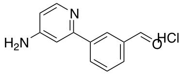 3-(4-Aminopyridin-2-yl)benzaldehyde Hydrochloride
