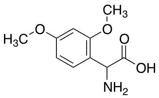Amino(2,4-dimethoxyphenyl)acetic Acid