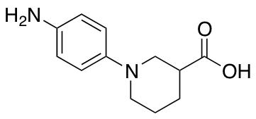 1-(4-Aminophenyl)piperidine-3-carboxylic Acid