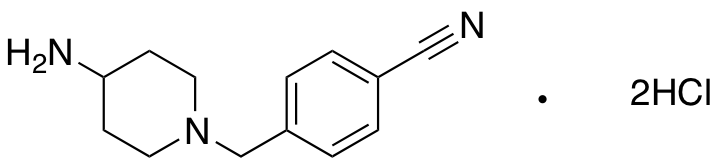 4-[(4-Aminopiperidin-1-yl)methyl]benzonitrile