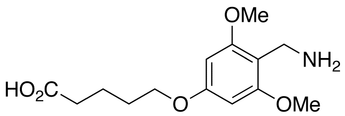 5-[4-(Aminomethyl)-3,5-dimethoxyphenoxy]pentanoic Acid Acetate