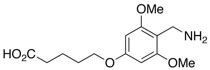 5-[4-(Aminomethyl)-3,5-dimethoxyphenoxy]pentanoic Acid Acetate