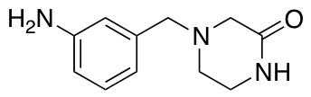 4-[(3-Aminophenyl)methyl]piperazin-2-one