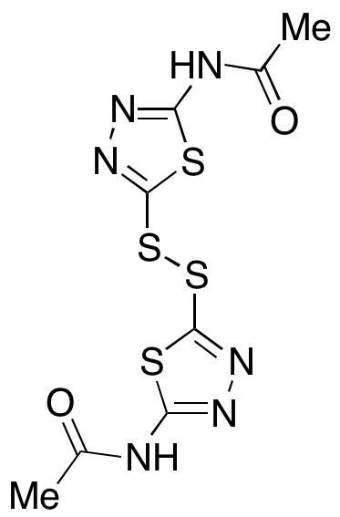 bis(2-Acetamido-1,3,4-thiadiazol-5-yl) Disulfide