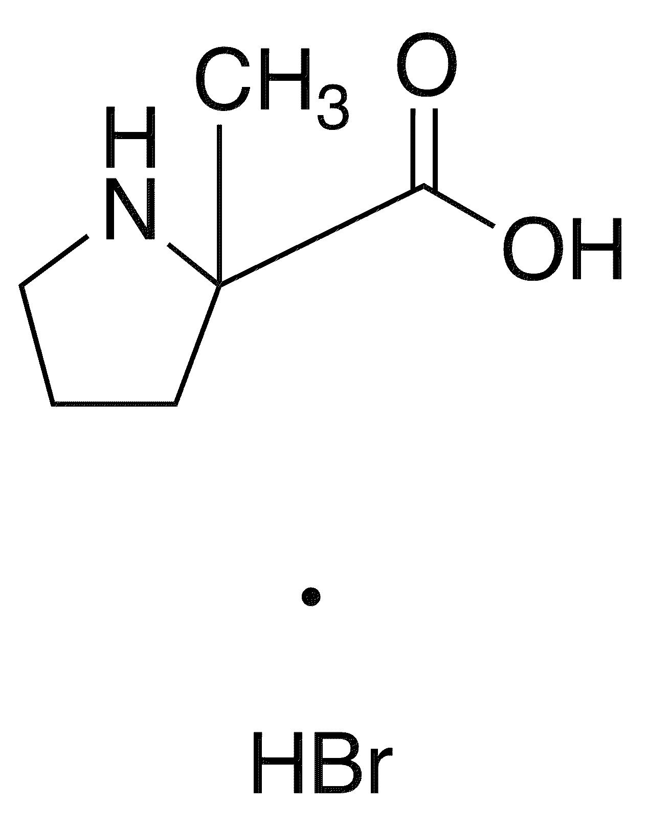 Dl-alpha-methylproline hydrobromide