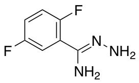 N-Amino-2,5-difluorobenzene-1-carboximidamide