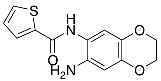 N-(7-Amino-2,3-dihydro-1,4-benzodioxin-6-yl)thiophene-2-carboxamide