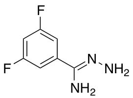 N-amino-3,5-difluorobenzene-1-carboximidamide
