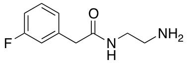 N-(2-Aminoethyl)-2-(3-fluorophenyl)acetamide