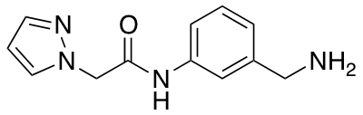 N-[3-(Aminomethyl)phenyl]-2-(1H-pyrazol-1-yl)acetamide