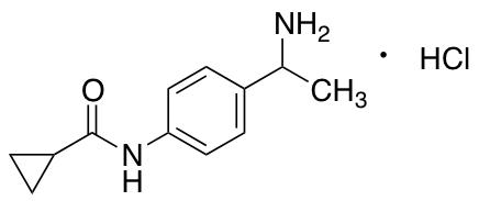 N-[4-(1-Aminoethyl)phenyl]cyclopropanecarboxamide Hydrochloride