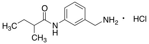N-[3-(Aminomethyl)phenyl]-2-methylbutanamide Hydrochloride
