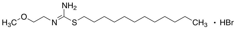 N-[Amino(dodecylsulfanyl)methylidene]-2-methoxyethan-1-amine Hydrobromide