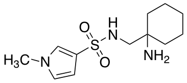 N-[(1-Aminocyclohexyl)methyl]-1-methyl-1H-pyrrole-3-sulfonamide