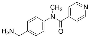 N-[4-(Aminomethyl)phenyl]-N-methylpyridine-4-carboxamide