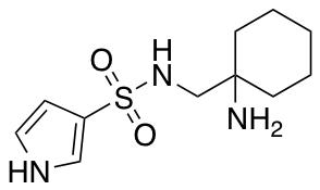 N-[(1-Aminocyclohexyl)methyl]-1H-pyrrole-3-sulfonamide