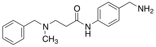 N-[4-(Aminomethyl)phenyl]-3-[benzyl(methyl)amino]propanamide