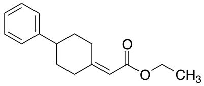 2-(4-Phenylcyclohexylidene)acetic Acid Ethyl Ester