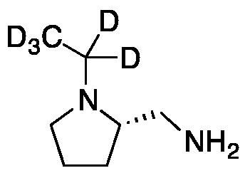 (2S)-2-Aminomethyl-1-ethylpyrrolidine-d5