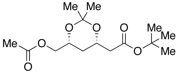 (4S,6R)-6-(Acetoxymethyl)-2,2-dimethyl-1,3-dioxane-4-acetic Acid tert-Butyl Ester