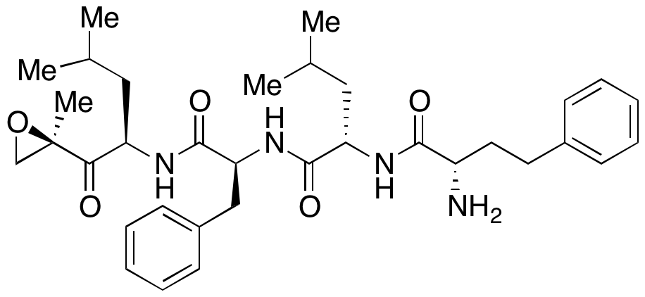 (S)-2-((S)-2-Amino-4-phenylbutanamido)-4-methyl-N-((S)-1-(((R)-4-methyl-1-((R)-2-methyloxiran-2-yl)-1-oxopentan-2-yl)amino)-1-oxo-3-phenylpropan-2-yl)pentanamide
